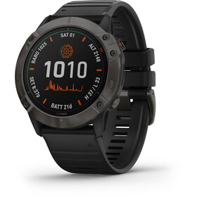 Garmin Fenix 6X Pro Solar Titanium DLC Multisport GPS Smartwatch black/slate grey